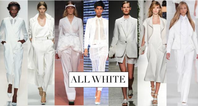 ALL WHITE NEW
